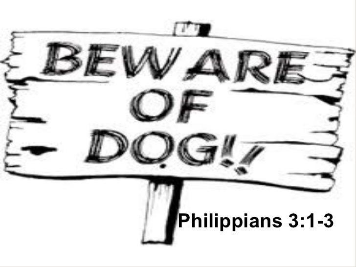 Philippians 3:1-3