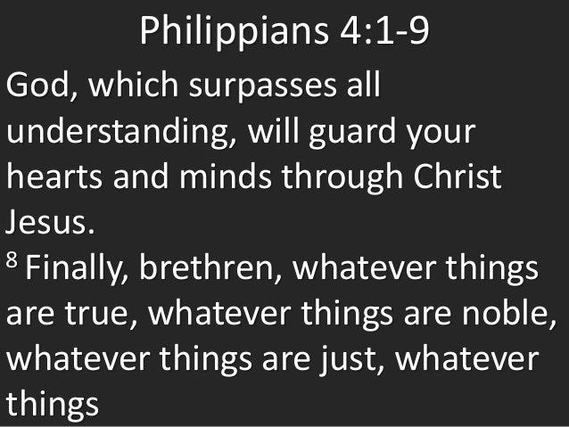 Philippians 4 challenge