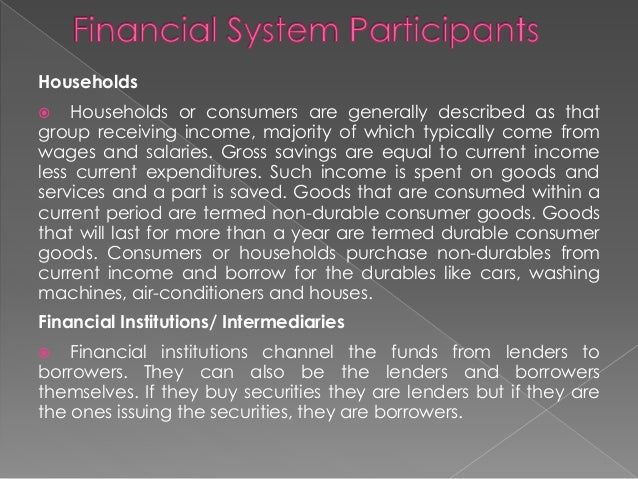 philippine financial system The philippine financial system what are financial systems the 'financial system' is a term used in finance to describe the system that allows money to go between savers and borrowers.