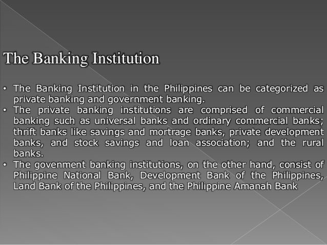 development of philippine financial system Philippine development for human development of a comprehensive operational framework for the philippine system of economic and financial resources.
