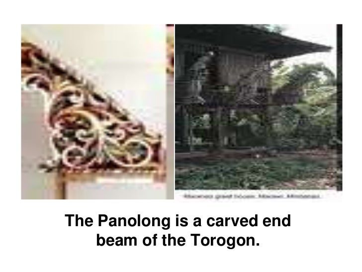 The Panolong is a carved end beam of the Torogon.<br />