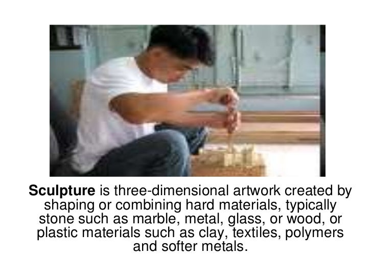 Sculpture is three-dimensional artwork created by shaping or combining hard materials, typically stone such as marble, met...