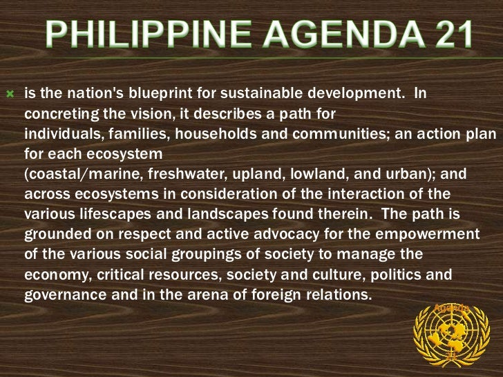    People and integrity of nature at the center of    development initiatives. This implies the strengthening    of roles...