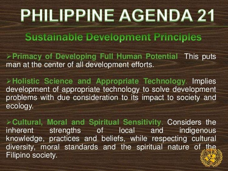   Viable, Sound and Broad-based Economic    Development. Requires working for development that is    based on stable eco...