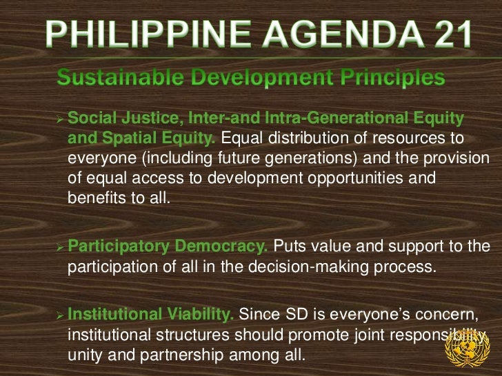     PA 21 envisions a better quality of life for all Filipinos    through the development of a just, moral and    creativ...