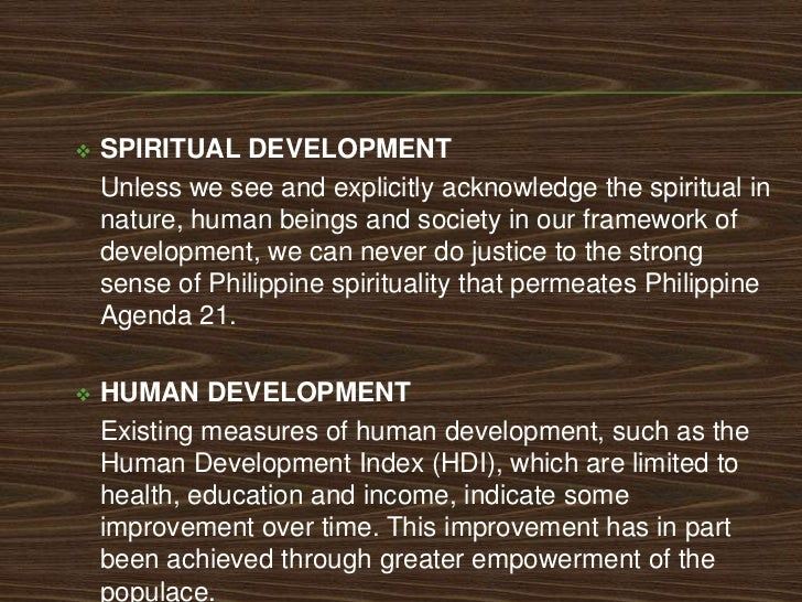    SOCIAL AND CULTURAL DEVELOPMENT     •   Promoting resource access and upholding property rights     •   Promoting envi...