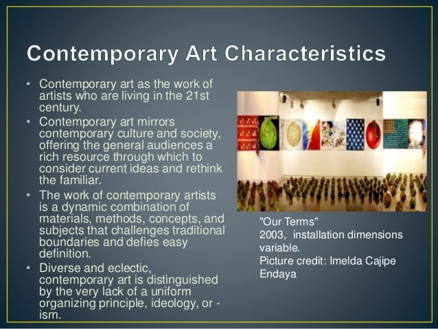 Characteristics Of Modern Era. What Are The