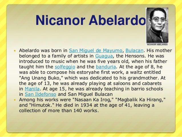 Philippine composers Slide 2