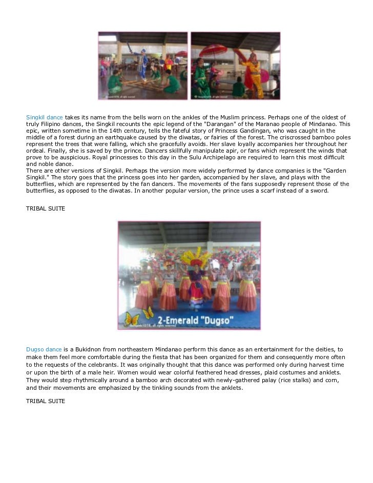 Philippine costumes and tradition