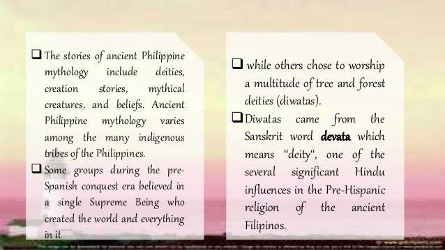 Philippine Deities (Philippine Mythology)