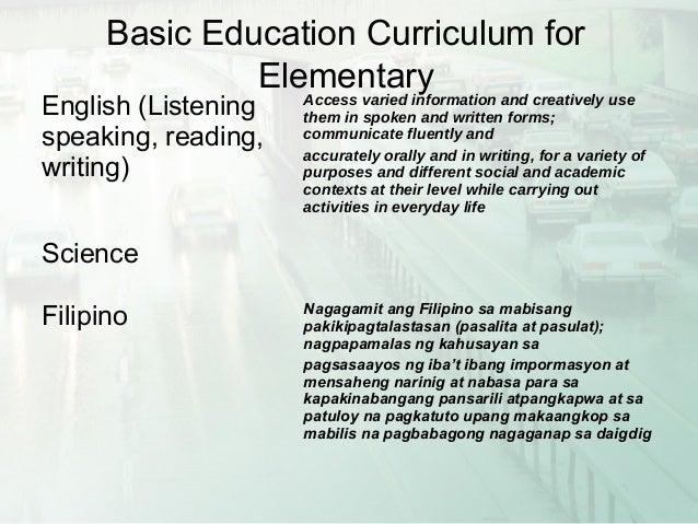 Philippine education essay