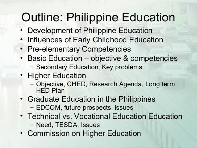 Philippine education presentation Slide 3