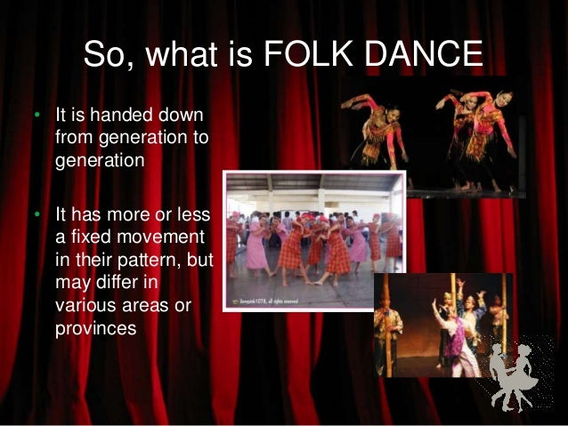 Classifications of philippine folk dances