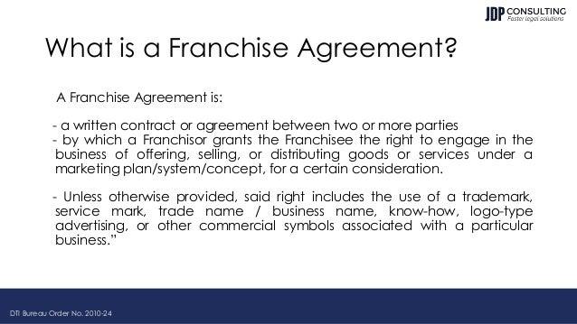 Philippine Franchising Law