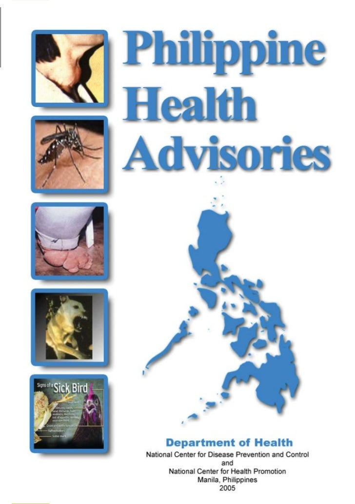HEALTH ADVISORYNational Center for Health PromotionNational Center for Disease Prevention and Control