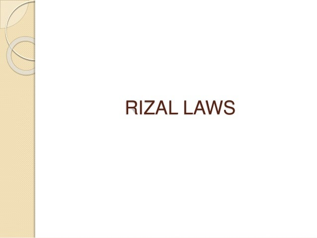 rizal laws republic act 1425 Read this essay on educational laws in the philippines  works and writings of jose rizal,  republic act no 1425.