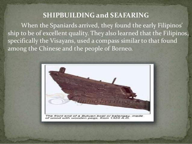 Major Economic Activities of Early Filipinos