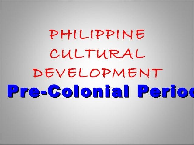 socio cultural sufficiency of pre colonial philippines