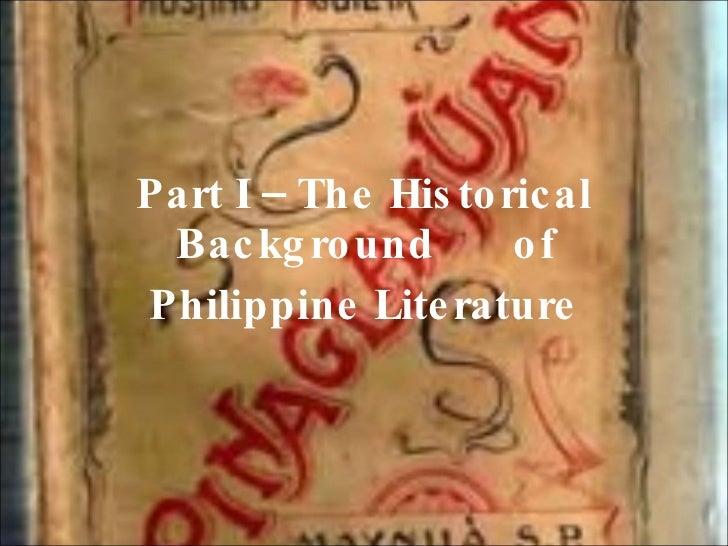 Philippine Literature boa Slide 2