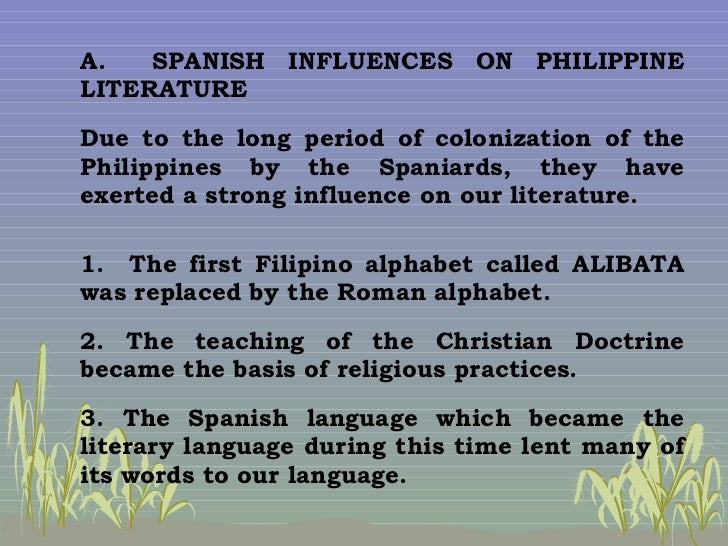 japanese influence on philippine literature With the new requirement by the commission on higher education of teaching of philippine literature in all tertiary schools in the country emphasizing the teaching of the vernacular literature or literature of the regions, the audience for filipino writers is virtually assured.