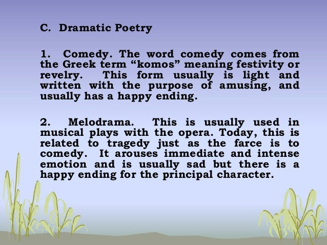 Philippine literature for Farcical humor examples