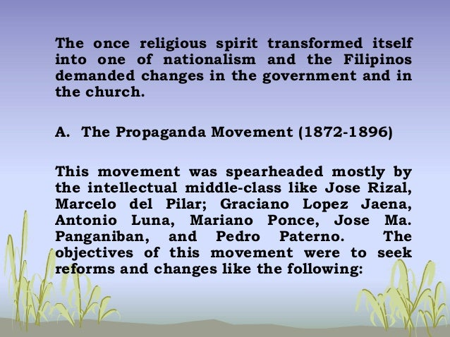 chapter 4 the period of enlightenment 1872 1898 1 o the period of enlightenment (1872-1898) o 2 o historical background o after 300 years of passivity under spanish rule, the filipino spirit reawakened when th e 3 priests gomez, burgos and zamora were guillotined without sufficient evidence of guilt.