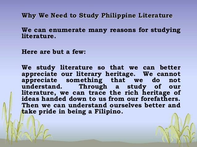 philippine literature essay