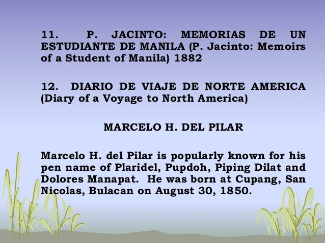 rizal s diary of a voyage to north america The following article is a commissioned article i wrote for this month's issue (december 2010) of smile, the in-flight magazine of cebu pacific air you may browse the magazine online.