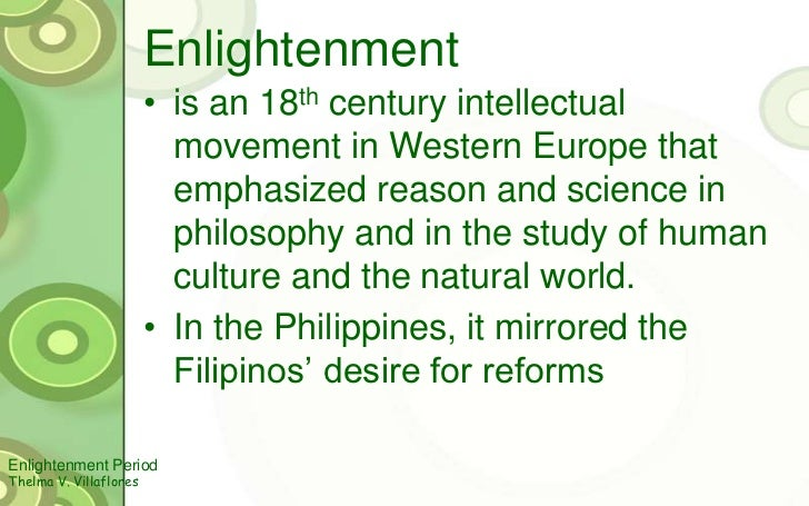 age of enlightenment tagalog