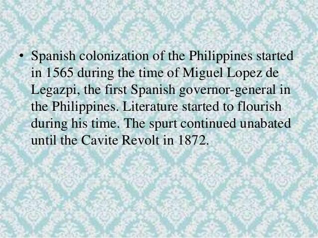 philippine literature during spanish era Spanish occupation press the philippine press during the spanish era – contextual overview revolutionary press i revolutionary press .