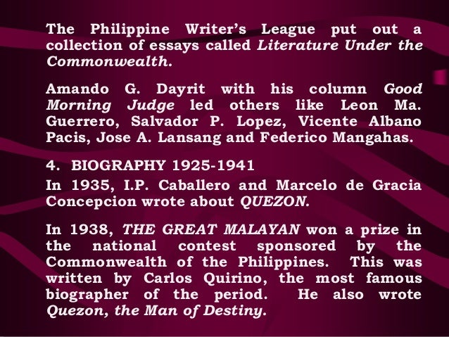 essay of what are filipinos like by leon ma guerrero 'explosive letters' by bonifacio to be auctioned off by leon by: amadís ma guerrero along with notable works of art by filipino masters such as.