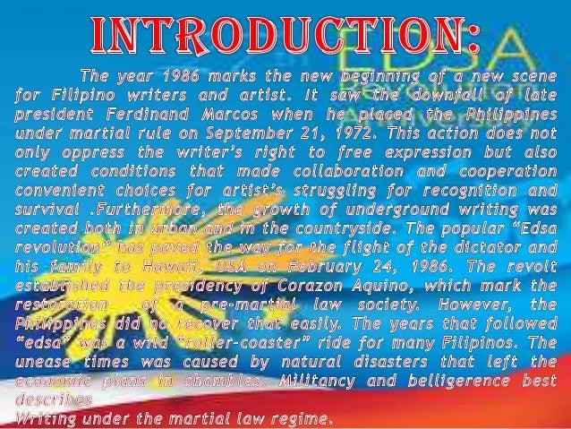 Philippine Literature Scrapbook