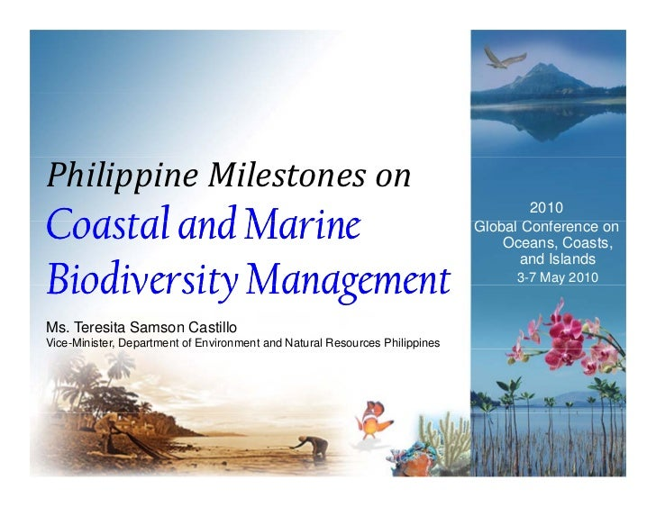 Philippine Milestones onCoastal and Marine                                                                                ...