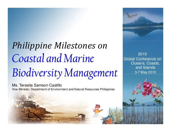 Marine and coastal degradation