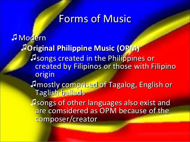 history of opm music