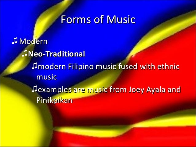 philippine modern music The philippine costumes barong tagalog for men barong tagalog, the official national costume of filipino men, originated from the northern part of the philippines, and is originally made of jusi or pineapple cloth called pina (woven from pineapple leaves.