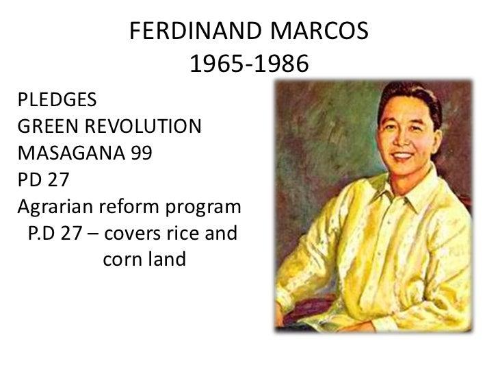 Agrarian reform of magsaysay