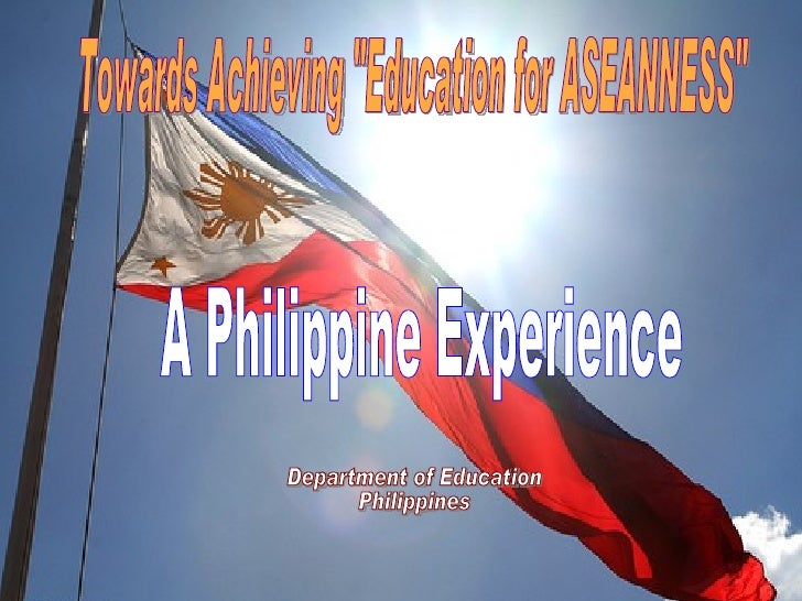 Outline of Presentation I.   Country Profile II. Overview of the Philippine      Educational System III. Sector Performanc...