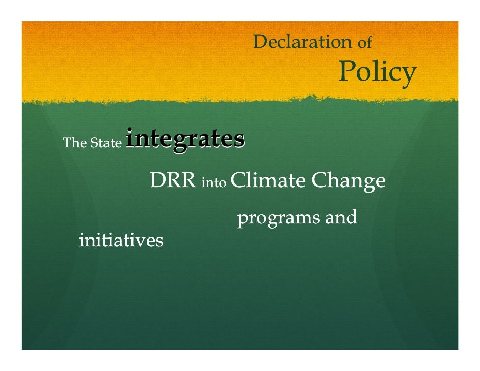 Department Of Communications Climate Change And Natural Resources