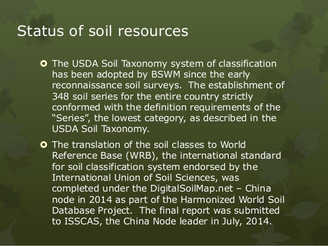 Philippines for Meaning of soil resources