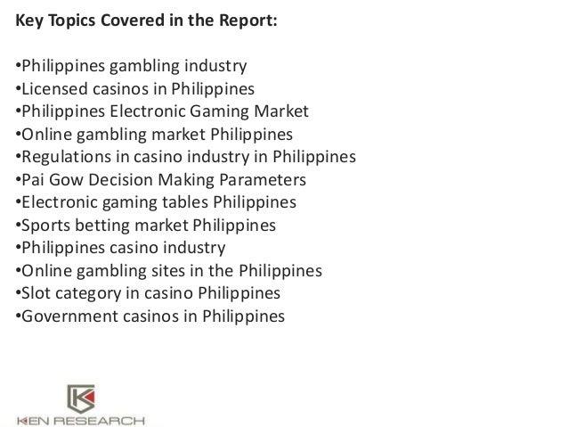 research topics on gambling
