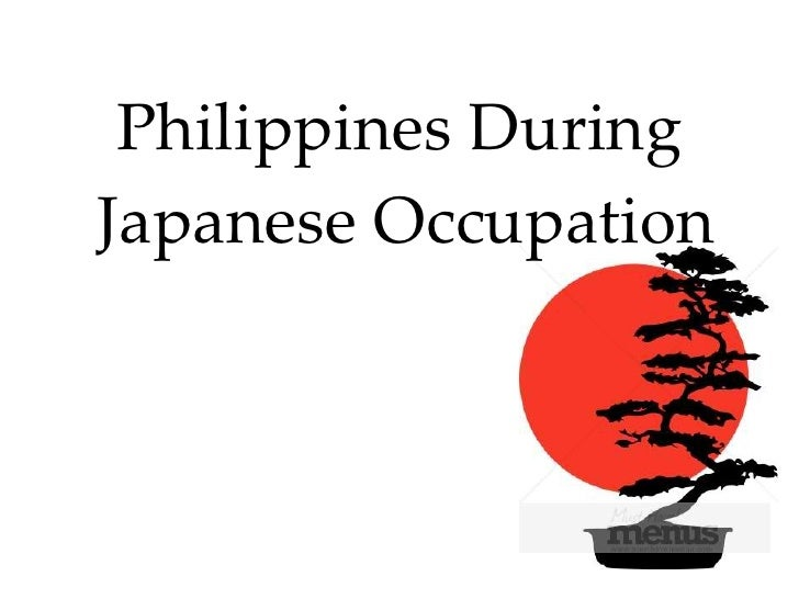 education in the philippines during japanese occupation Followed by the occupation of the philippines by the japanese army  to  manila in order to prevent further destruction of the city during the.