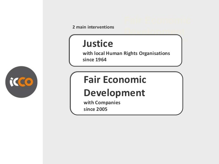 Fair Economic2 main interventions                       Development                       cooperation with the private sec...