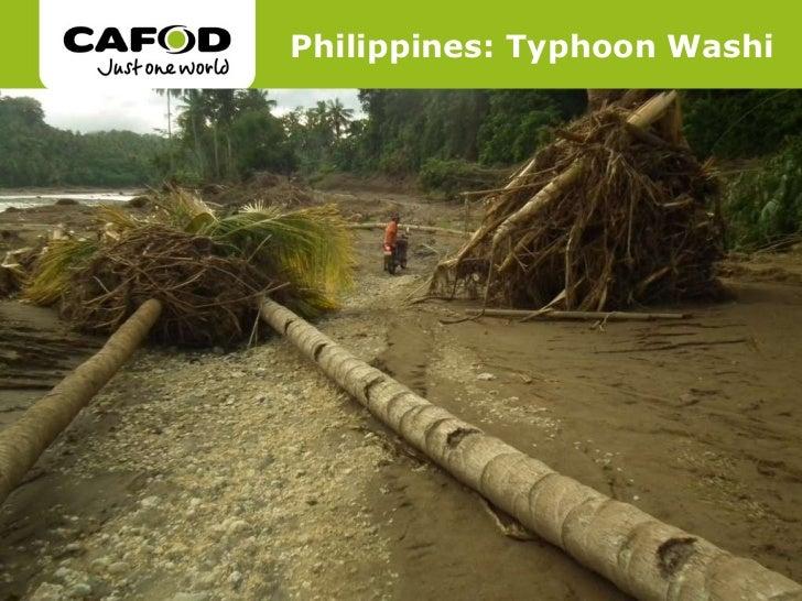 Philippines: Typhoon Washi
