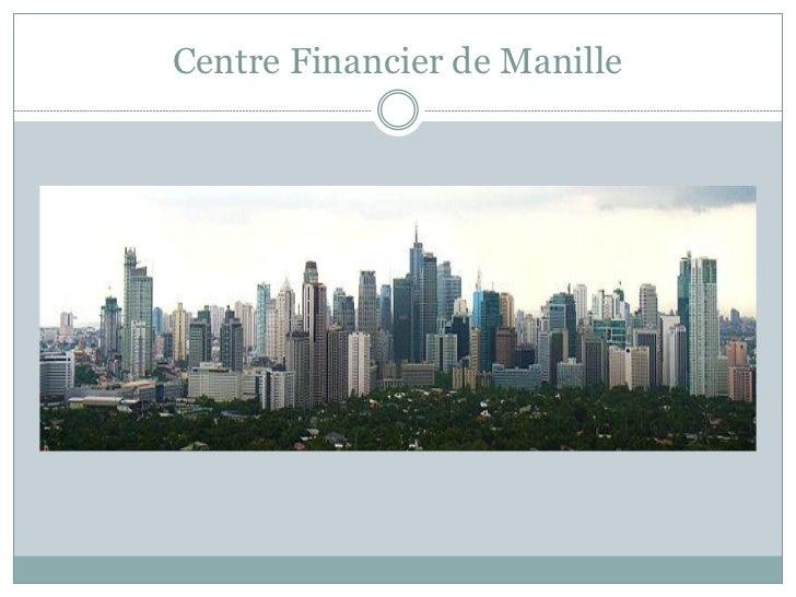 Centre Financier de Manille