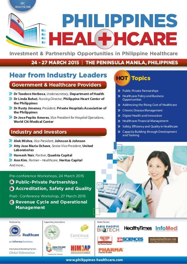 Philippines healthcare 2015