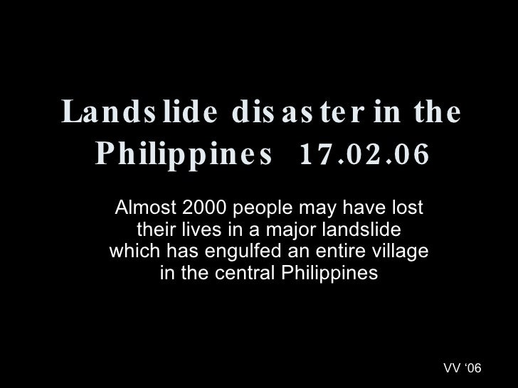 Almost 2000 people may have lost their lives in a major landslide which has engulfed an entire village in the central Phil...