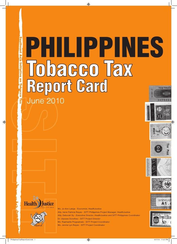 Ms. Jo-Ann Latuja - Economist, HealthJustice                                   Atty. Irene Patricia Reyes - SITT Philippin...