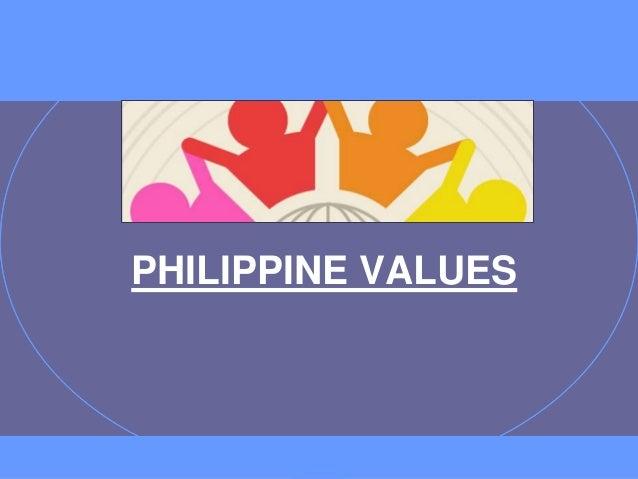 PHILIPPINE VALUES