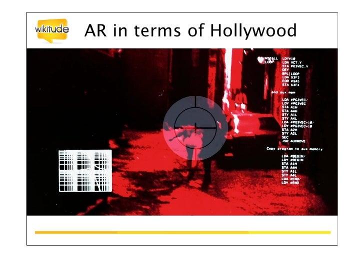 Augmented Reality - The magic window                                  12